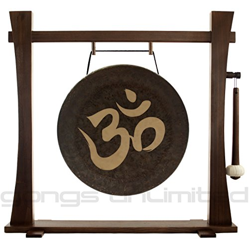 18″ Om Gong on Spirit Guide Gong Stand