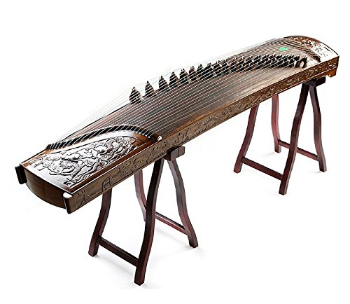 GUZHENG CHINESE ZITHER Phoebe Zhennan Nine Dragons Curved