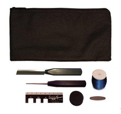 Reed Pros Oboe Reed Making Kit Standard – Black Pouch