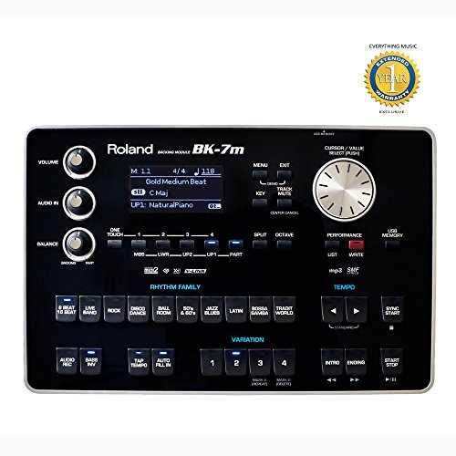 Roland BK-7m Backing Module with 1 Year EverythingMusic Extended Warranty Free