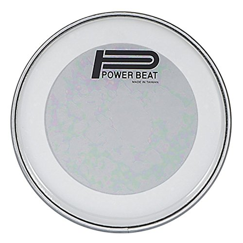 """8.75″ Power Beat Drum Drum Head Double Oily Collar /0.5""""- For Darbuka/Doumbek (Clear)"""