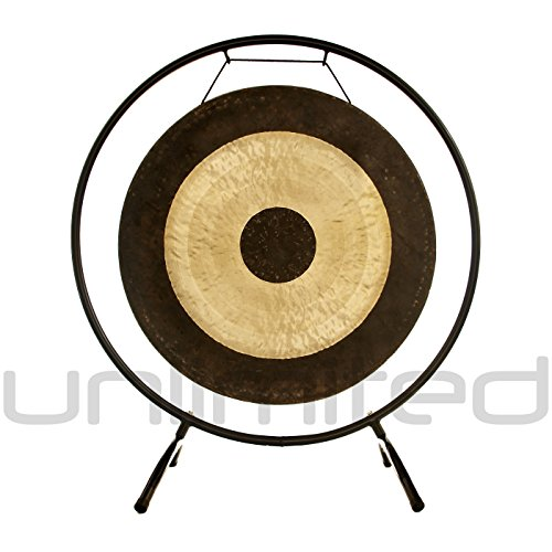 22″ Chau Gong on the Holding Space Gong Stand