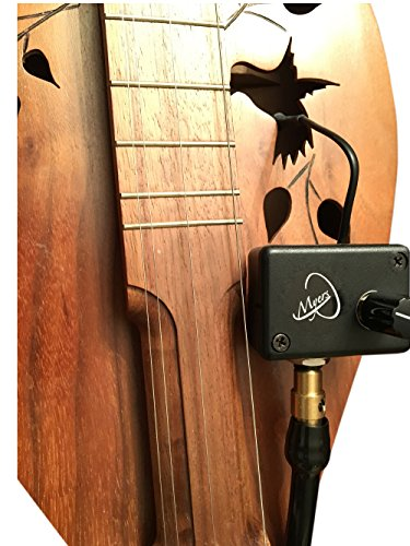 4-STRING CUTAWAY MOUNTAIN DULCIMER MICROPHONE with FLEXIBLE MICRO-GOOSE NECK by Myers Pickups ~ See it in ACTION! Copy and paste: myerspickups.com