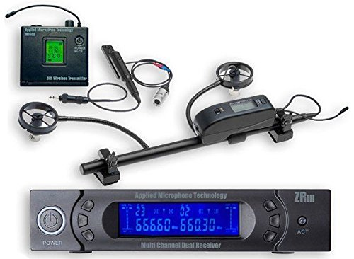 New AMT ACCW Wireless Accordion Microphone System for both Right and Left Hands