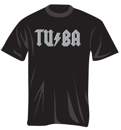 Music Treasures Co. Tuba Stikes Back T Shirt (L)