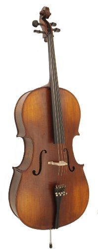 Knilling School Model 1/2 Cello Outfit (Padded Cover, Wood Bow)