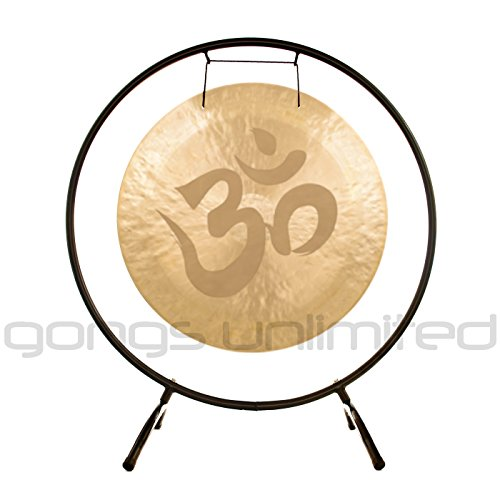 Om Gongs on Stands
