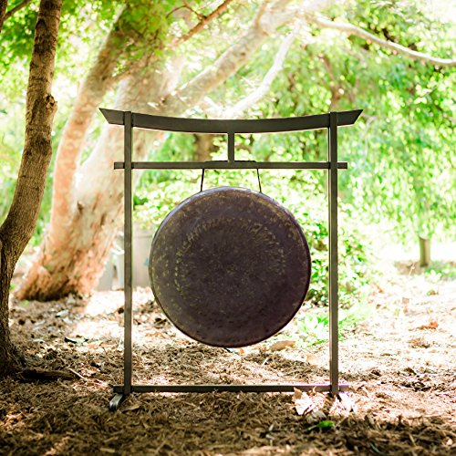 16″ to 17″ Gongs on the Sacred Space Outdoor Gong Stand