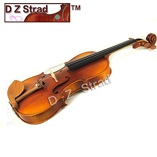 Antique 4/4 Full Size Violin D Z Strad Model 220 with Open Clear Tone