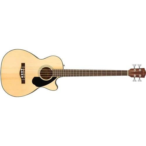 Fender CB-60SCE All Mahogany Acoustic-Electric Bass Guitar – Natural Finish