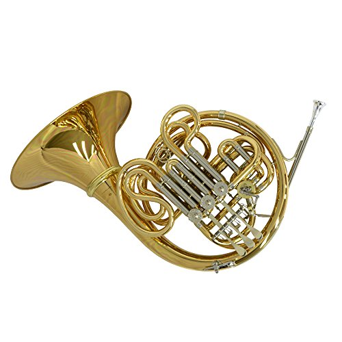 Schiller American Elite VI (A) French Horn w/ Detachable Bell – Yellow Brass and Nickel