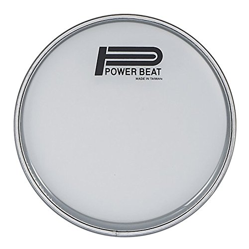 "8.75″ Power Beat Drum Head Dupont Mylar 0.250mm Collar /0.5""- For Darbuka/Doumbek (Semi Clear)"
