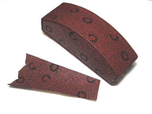 Japanese zither Koto Head cover for 13strings (leather Red ) w/import shipping