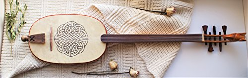 Guitarra Morisca / Guitar / Mandora Medieval / Reconstruction from Cantigas de Santa Maria – Plucked String Instrument / Lute / Medieval – Nice gift for music lovers – Medieval gift