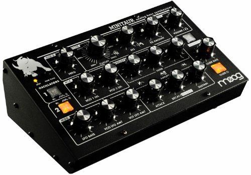 Moog TBP002 Minitaur Bass Table Top Synthesizer – Black