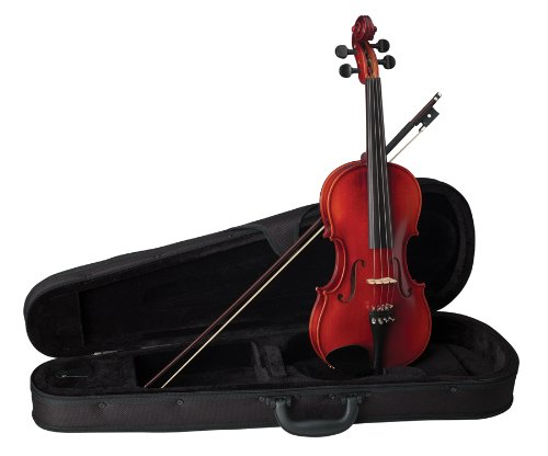 Becker 175C Prelude Violin Outfit 1/8, Red-Brown Satin