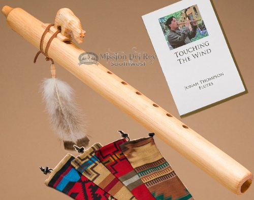 Native American Flute Pack -Natural Bear by Jonah Thompson