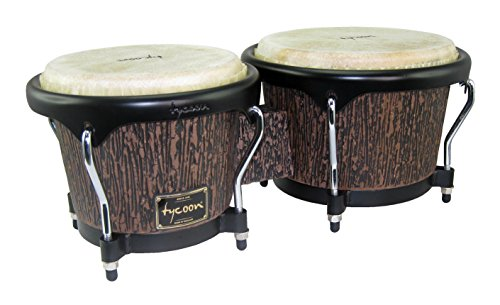 Tycoon Percussion STBS-BLW Supremo Select Bongo Lava Wood Finish 7 & 8 1/2