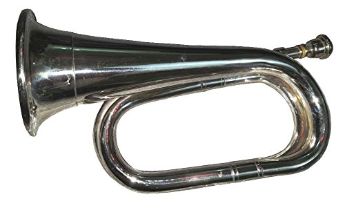 Bb Low Pitch Army,Military Bugle With Free Hard Case+M/P