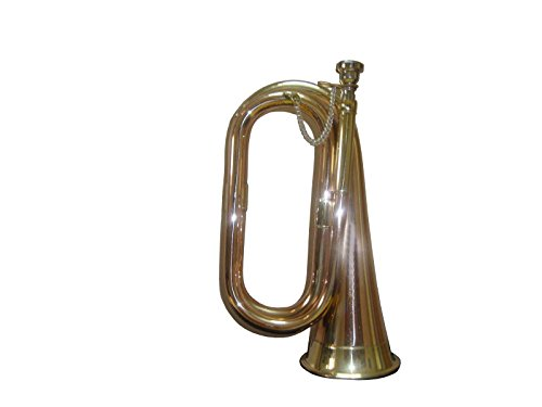 Army,Scout,Sea Cadet Bugle With Free Hard Case+Mouthpiece