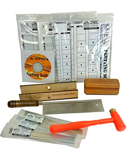 Complete Cigar Box Guitar Fretting Starter Kit: Tools, Templates, Frets & How-to Guide