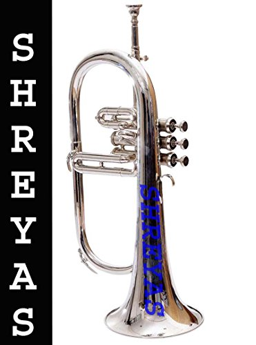 Shreyas Flugel Horn 3 Valve, Bb (NICKEL SILVER)