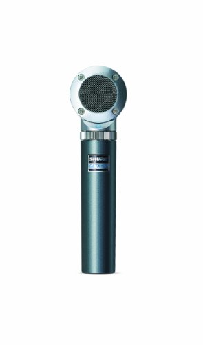 Shure BETA 181/O Ultra-Compact Side-Address Instrument Microphone with Omnidirectional Polar Pattern Capsule