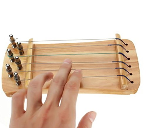 6 Strings Wooden Transparent Finger Trainer for Guzheng Chinese Zither Player by AdvancedShop