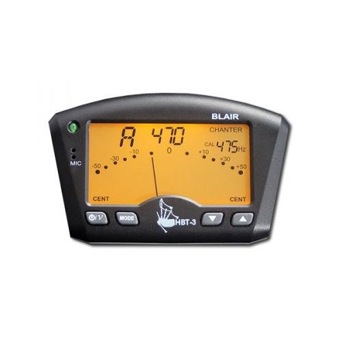 HBT3 Bagpipe Tuner (Tuner with Bagpipe Mount)