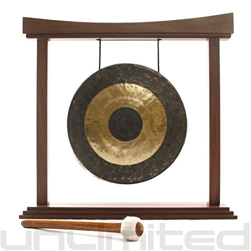16″ Gongs on the Large Eternal Present Gong Stand