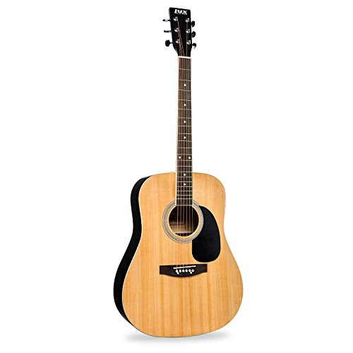 """LyxPro 41"""" Classic 6-String Acoustic Guitar for Beginner, Intermediate & Professional Players – Includes Hex Key & Maintenance Manual"""