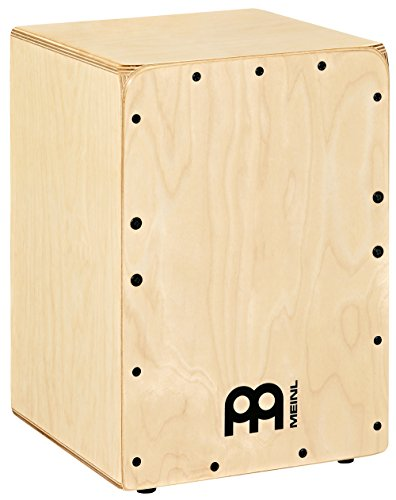 Meinl Percussion JC50B Baltic Birch Wood Compact Jam Cajon with Internal Snares