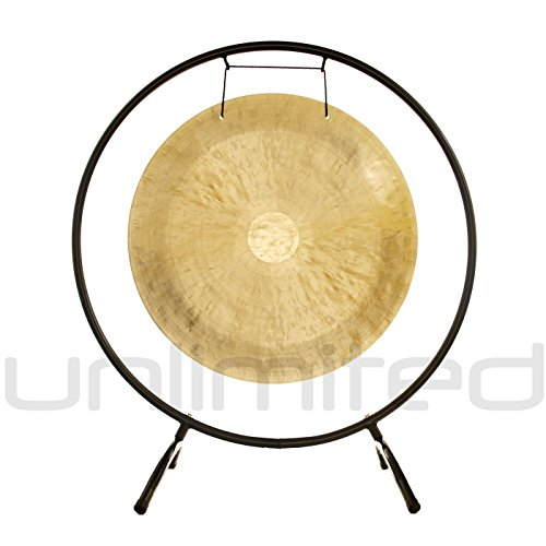20″ to 24″ Gongs on the Holding Space Gong Stand