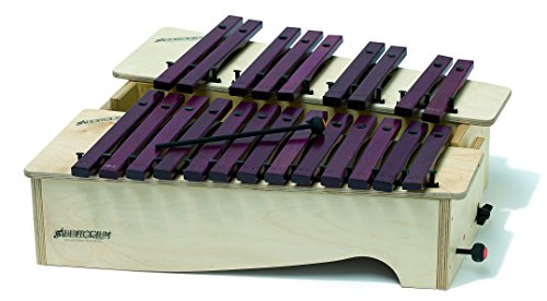 Gitre 781/X 620 x 300 x 170 mm 13 Notes Alto Diatonic Xylophone