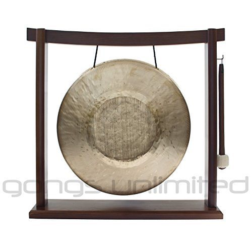 10″ to 12″ Gongs on the Woodsonic Gong Stand