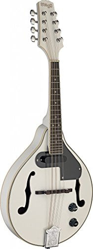 Stagg M50 E WH Acoustic-Electric Bluegrass Mandolin – White