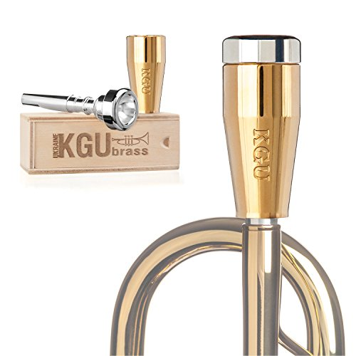 Trumpet Mouthpiece Booster- KGUBrass Custom Booster. Limited Edition (Custom Classic, Gold Plated 24K)
