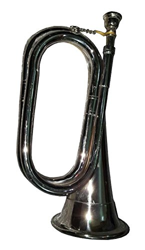 Bb Low Pitch Tuneable Army,Military Bugle With Free Hard Case+M/P Shry011
