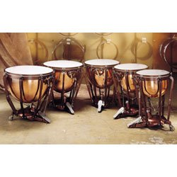 Ludwig Professional Series Hammered Timpani Concert Drums Lkp523Kg 23 in. With Pro Tuning Gauge (Lkp523Kg 23 in. With Pro Tuning Gauge)