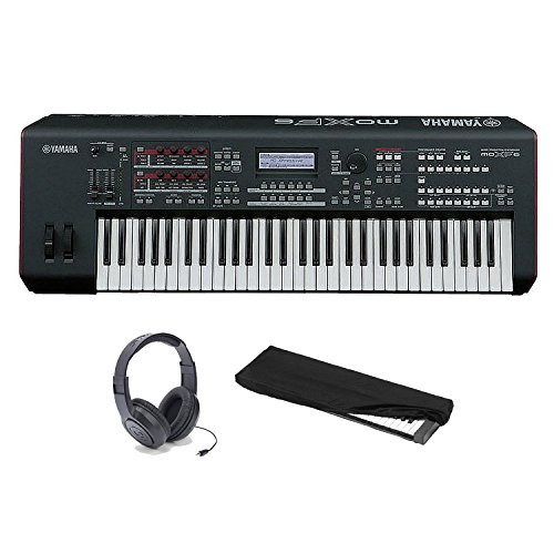 Yamaha MOXF6 61-key Synth Workstation with Semi-weighted Keybed . MOTIF XF Sound Engine. DAW and VST Control. Multi-channel USB Audio Interface. Onboard Sequencing Synthesizer Bundle
