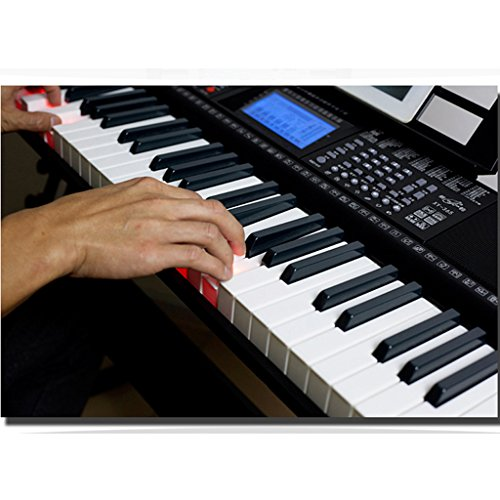 DUWEN Keyboard Children And Adult 61-key Electronic Piano Weight 6KG With Microphone And Piano Stand