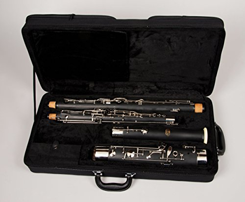 Tempest Agility Winds Alpine Resin Bassoon, High D Key, Whisper Key Lock, Full German Nickel-Silver Key Mechanism, 2 Bocals, Plush Lined Case with 5-Year Warranty
