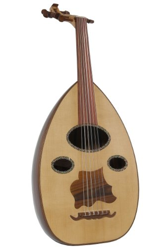 Egyptian Rosewood Oud – Oval Mother Of Pearl