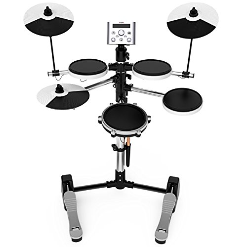 Electronic Drum Set, Build-In Metronome USB Port for Training, Teaching, By LC Prime
