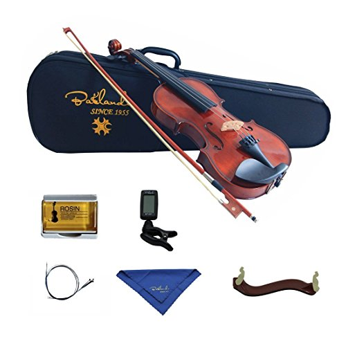 Bailando 1/4 Size Handmade Solid Wooden Violin Starter Kit – Natural