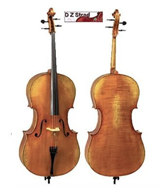 Cello D Z Strad Model 600 Size 3/4 Handmade by Prize Winning Luthiers