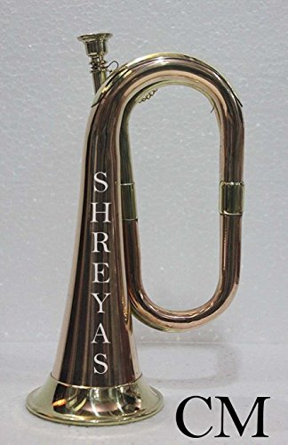Brass and Copper Bugle – Cavalry US British Army shry02