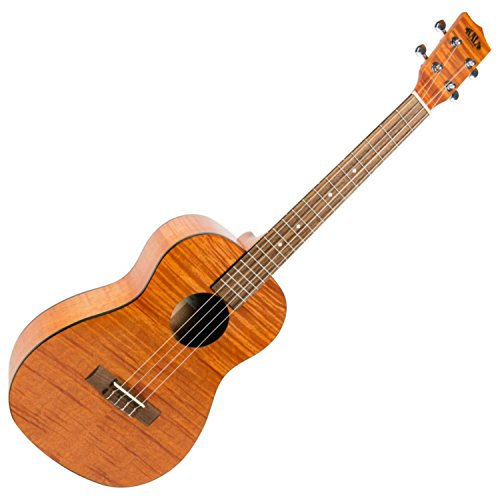 Kala KA-BEM Exotic Mahogany with Black Binding Baritone Ukulele
