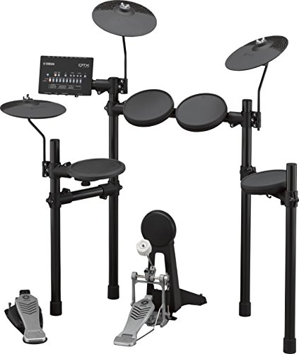 Yamaha DTX452K Customizable Electronic Drum Kit with 3-Zone Snare Pad, KP65 Kick Tower and Bass Pedal