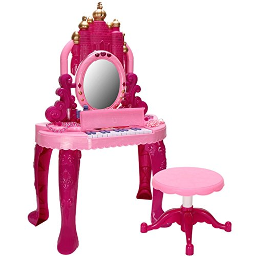 Keyboard Fashion Creative Beautiful Children Electronic Keyboard Girl 1-3-6 Years Old Piano Dresser Combo Keyboard Dream Piano Dresser
